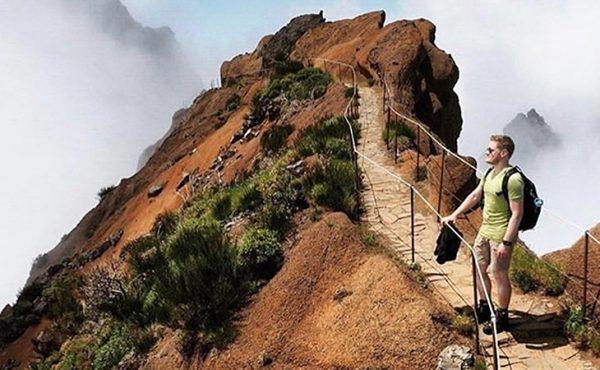 Madeira pico do arieiro walk landscape