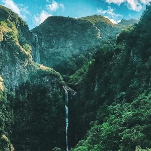 Madeira rabaçal walk landscape