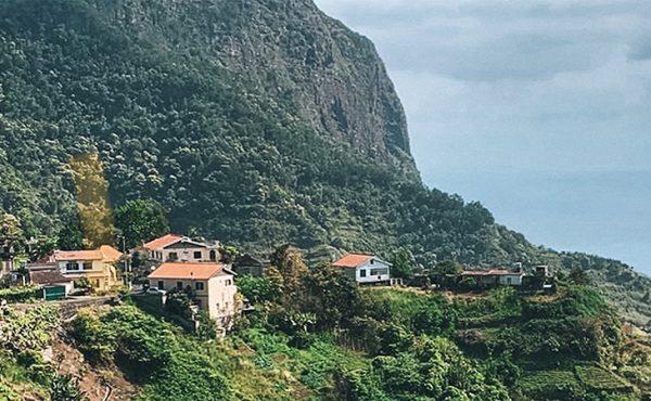 Madeira referta walk landscape