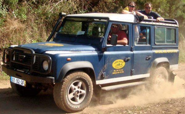 madeira center island jeep tour view
