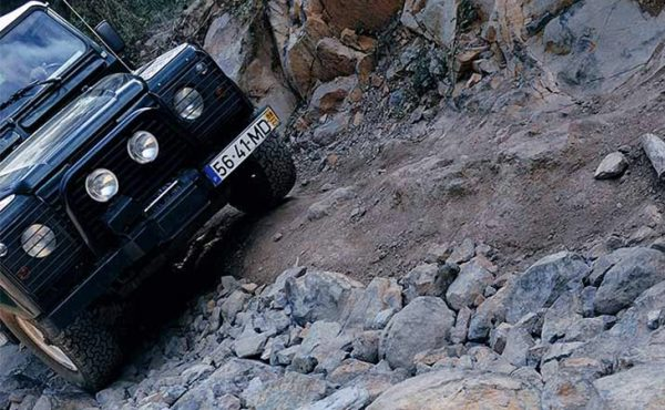 Madeira east jeep tour on the mountains