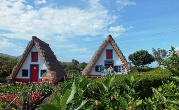 madeira east tour view of the santana houses