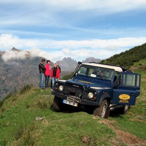 Madeira northeast jeep tour on the mountains
