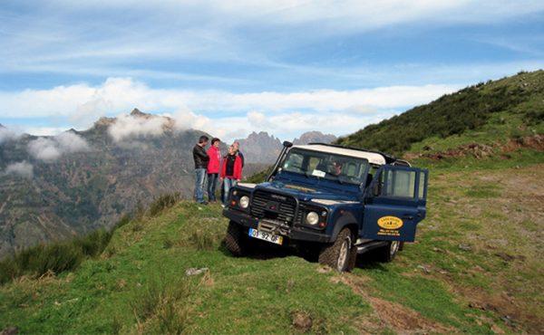 Madeira northeast jeep tour on the mountains