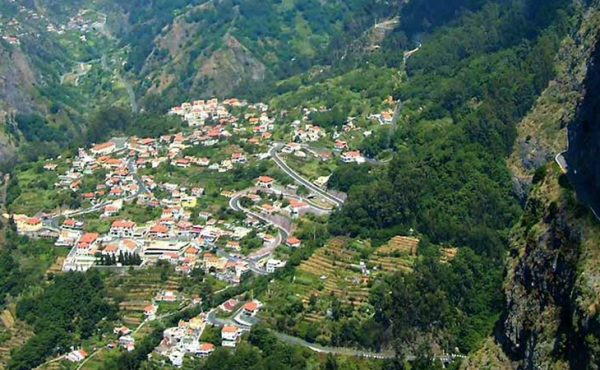 Madeira nuns valley tour view from high above