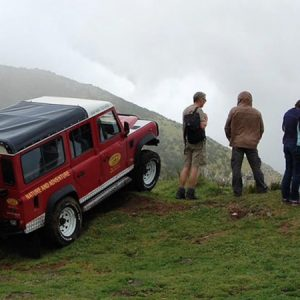 madeira private jeep half day tour view over the mountains