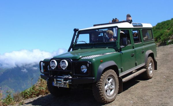 Madeira west jeep tour with a landscape view